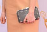 Joanne Froggatt's Anya Hindmarch 'Duke' clutch