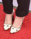 Sophie McShera's shoes