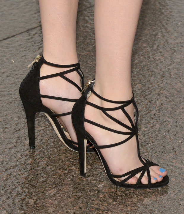 Emma Roberts' Jimmy Choo 'Vinyl' sandals