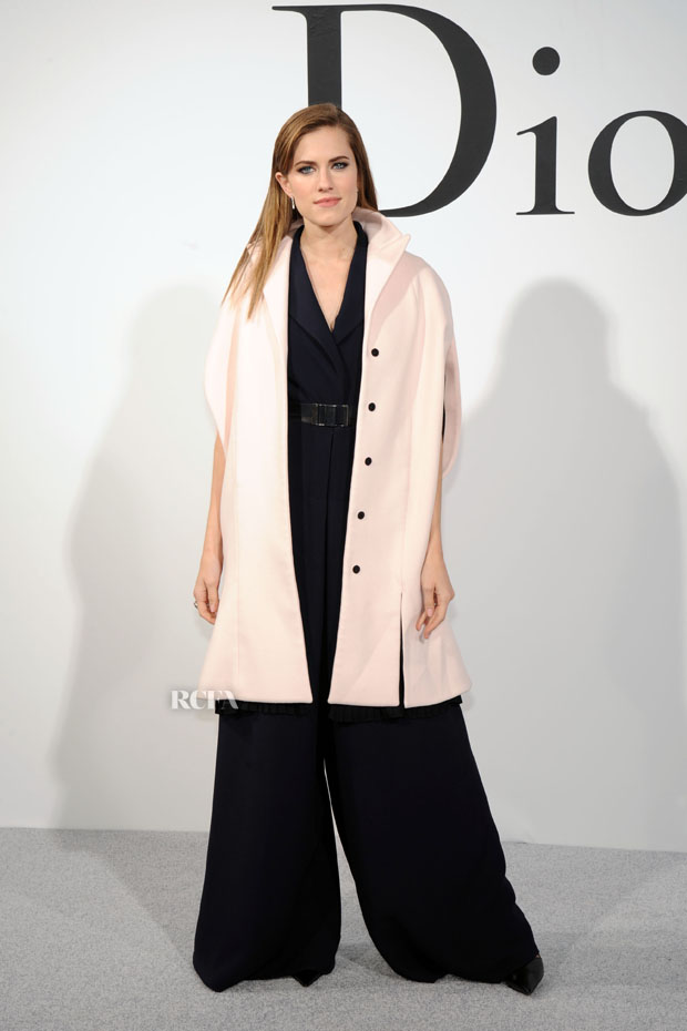 Allison Williams in Dior