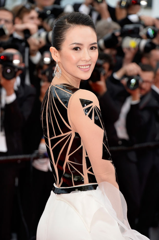 Zhang Ziyi in Stéphane Rolland Couture