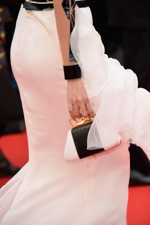 Zhang Ziyi's Bochic 'Alicia' clutch