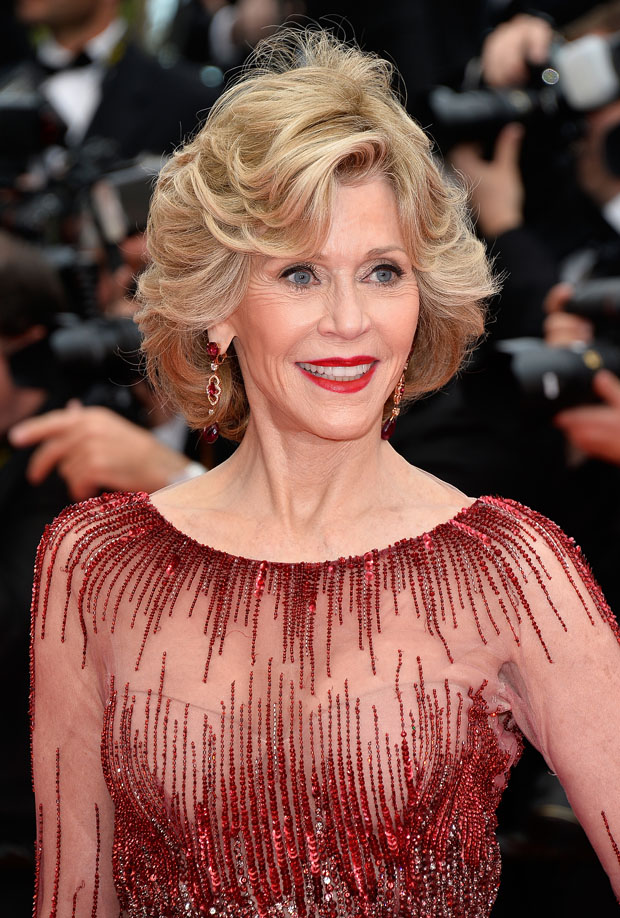 Jane Fonda in Elie Saab Couture
