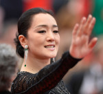 Gong Li in Roberto Cavalli