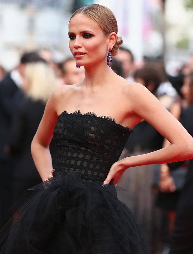 Natasha Poly in Oscar de la Renta