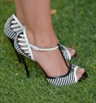 Sarah Hyland's Casadei sandals