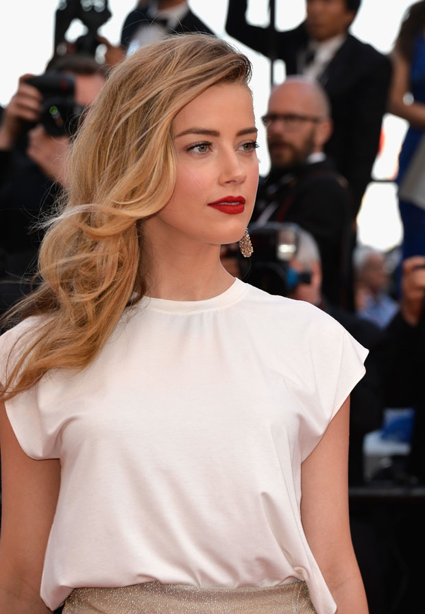 Amber Heard in Vionnet