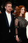 Christina Hendricks in Alberta Ferretti