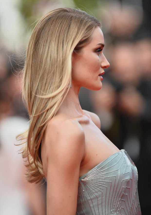 Rosie Huntington-Whiteley in Gucci Première