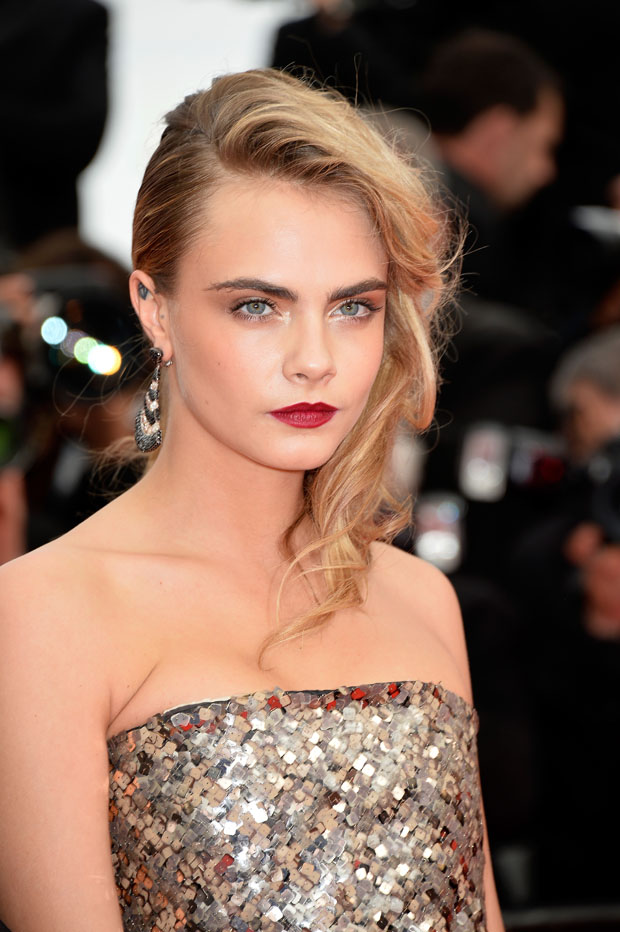 Cara Delevingne in Chanel Couture