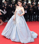 Araya A. Hargate In Zac Posen - 'Clouds Of Sils Maria' Cannes Film Festival Premiere