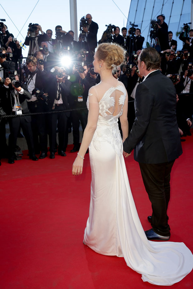Uma Thurman in Marchesa