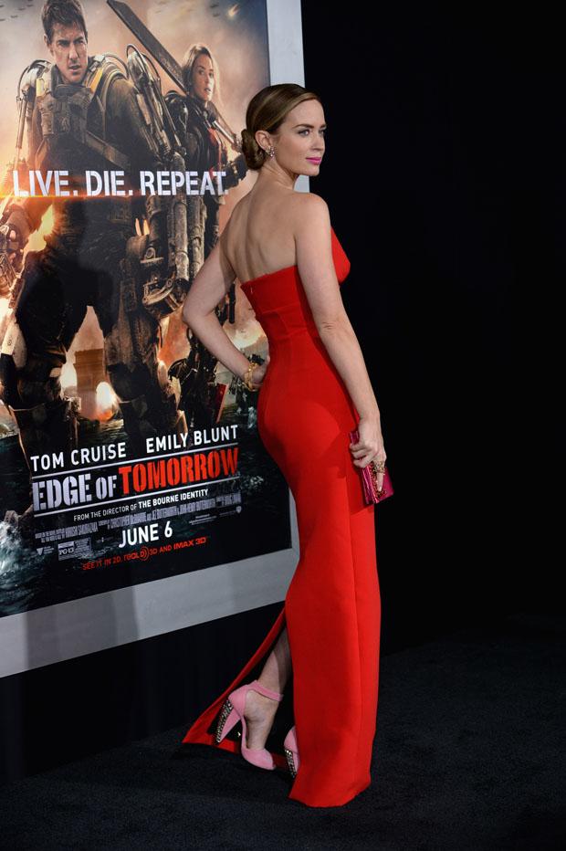 Emily Blunt in Prada