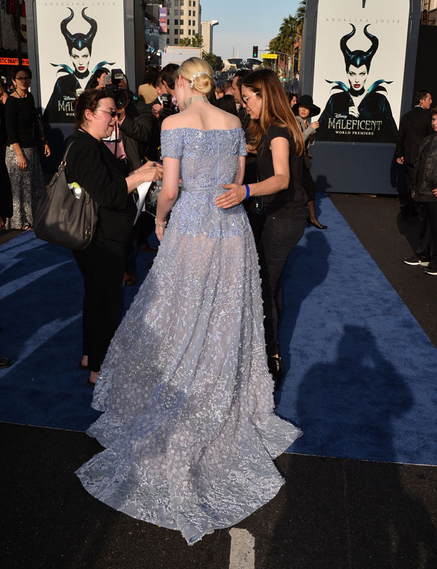 Elle Fanning in Elie Saab Couture