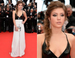 Adele Exarchopoulos In Louis Vuitton - 'Grace of Monaco' Cannes Film Festival Premiere & Opening Ceremony