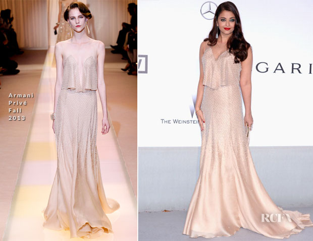 Aishwarya Rai In Armani Privé -  amfAR Cinema Against Aids Gala