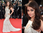 Aishwarya Rai In Roberto Cavalli - 'The Search' Cannes Film Festival Premiere