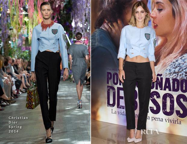 Alejandra Onieva In Christian Dior - 'Por un Punado de Besos' Madrid Premiere