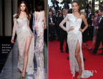 Alessandra Ambrosio In Atelier Versace - 'Two Days, One Night'  ('Deux Jours, Une Nuit') Cannes Film Festival Premiere