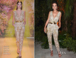 Alessandra Ambrosio In Zuhair Murad Couture - Chopard Cocktail After-Party