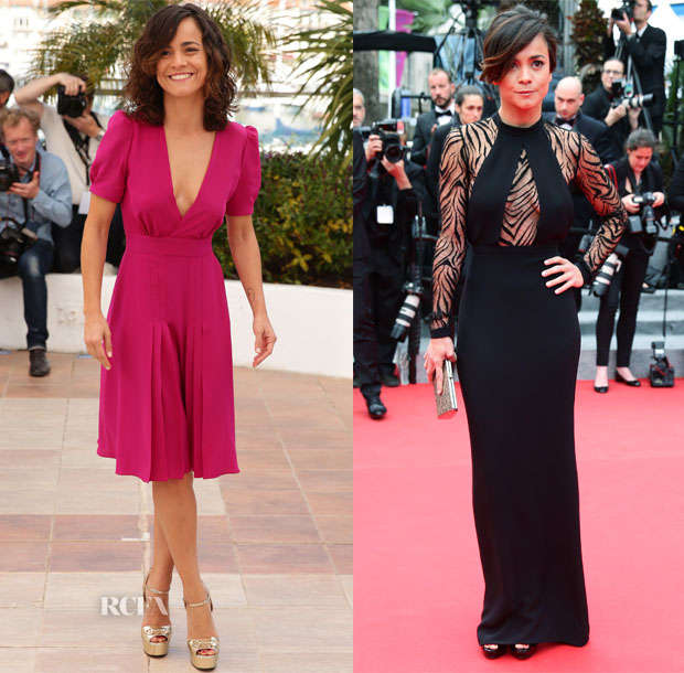 Alice Braga In Gucci - 'El Ardor' Photocall & 'Foxcatcher' Cannes Film Festival Premiere