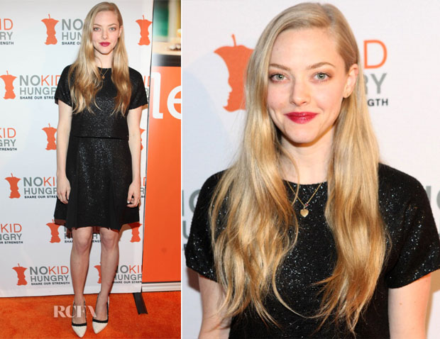 Amanda Seyfried In Longchamp - Share Our Strength's 'No Kid Hungry' Culinary Benefit Dinner