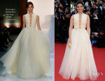America Ferrera In Georges Hobeika Couture - 'How To Train Your Dragon 2′ Cannes Film Festival Premiere