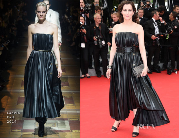 Amira Casar In Lanvin - 'The Search' Cannes Film Festival Premiere