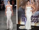 Ana de Armas In Stéphane Rolland Couture - 'Por Un Punado de Besos' Madrid Premiere
