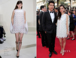 Angelababy In Christian Dior Couture -  'How To Train Your Dragon 2′ Cannes Film Festival Premiere