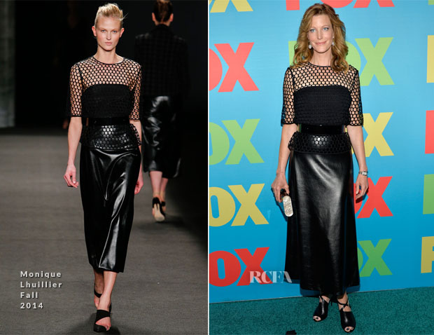 Anna Gunn In Monique Lhuillier - FOX 2014 Programming Presentation
