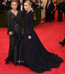 Mary-Kate Olsen In vintage Chanel & Ashley Olsen In vintage Gianfranco Ferré & - 2014 Met Gala