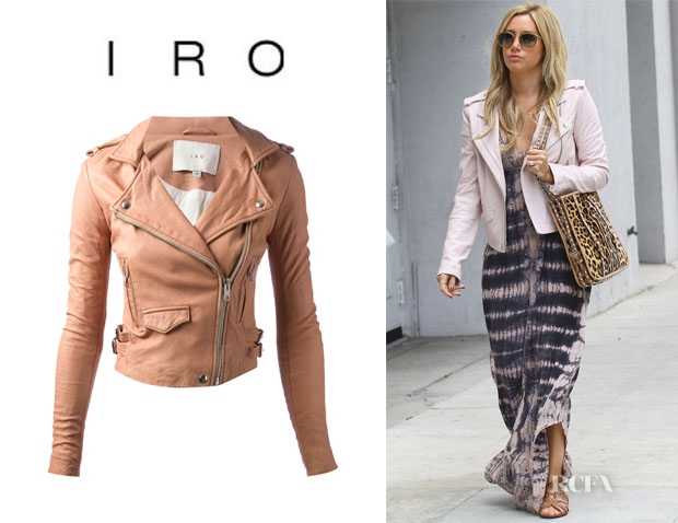 Ashley Tisdale's Iro 'Ashville' Biker Jacket