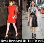 Best Dressed Of The Week - Emma Stone In Valentino, Lucy Liu In Proenza Schouler, Adam Lambert In Kris Van Assche & Dave Franco In Band of Outsiders