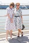 Anna Wintour and Carolina Herrera