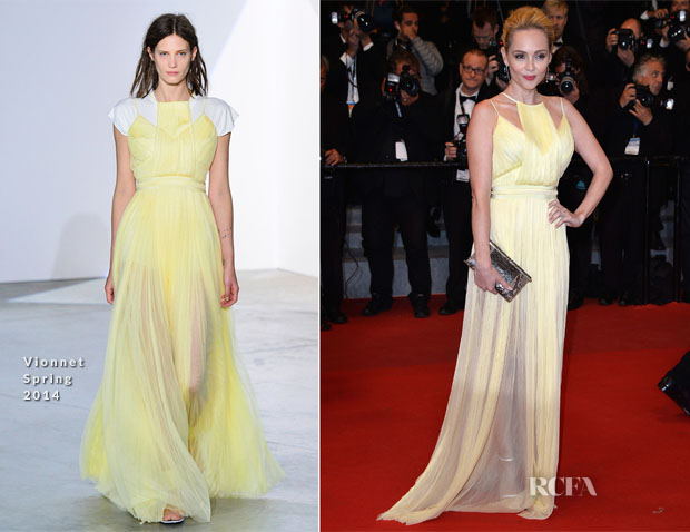 Beatrice Rosen In Vionnet - 'Maps To The Stars' Cannes Film Festival Premiere
