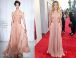 Bella Thorne In Zac Posen - 'Blended' LA Premiere