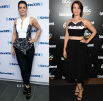 Bellamy Young In Robert Rodriguez, Max Mara & House of Ronald - SiriusXM Studios & Upfronts Celebration