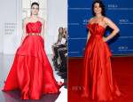Bellamy Young In Romona Keveza - 100th Annual White House Correspondents' Association Dinner