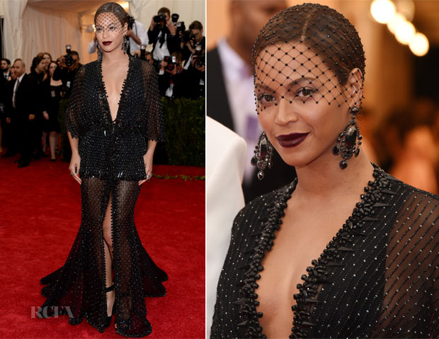 Beyonce Knowles In Givenchy Couture - 2014 Met Gala