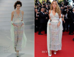 Blake Lively In Chanel Couture - 'Mr Turner' Cannes Film Festival Premiere