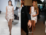 Blake Lively In Giambattista Valli Couture - Grand Journal TV