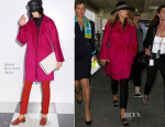 Blake Lively In Gucci - Nice Airport