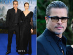 Brad Pitt In Gucci - 'Maleficent' Private Reception