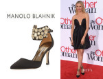 Cameron Diaz' Manolo Blahnik 'Amatis' Embellished Pumps