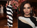 Camilla Belle In Gucci - Frida Giannini Dinner Party