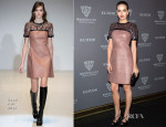 Camilla Belle In Gucci - Gucci Museo 'Forever Now' Exhibit Opening