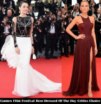 Cannes Film Festival Best Dressed Of Day 1 Critics' Choice