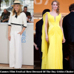 Cannes Film Festival Best Dressed Of Day 10 Critics' Choice