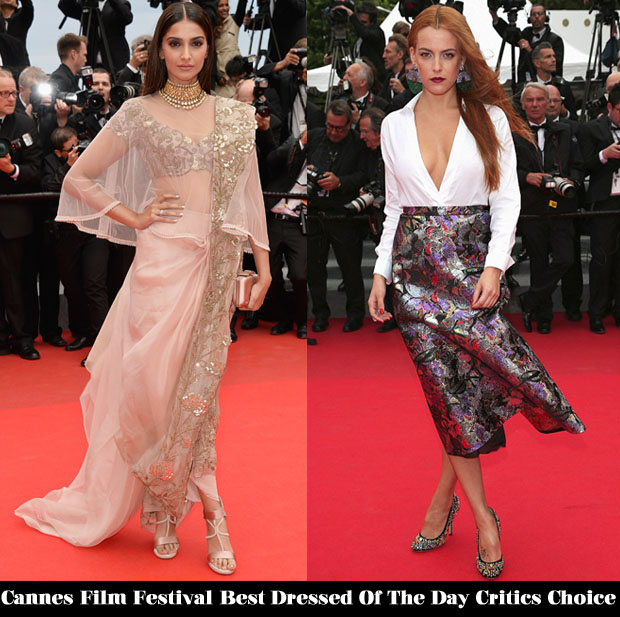 Cannes Film Festival Best Dressed Of Day 6 Critics' Choice